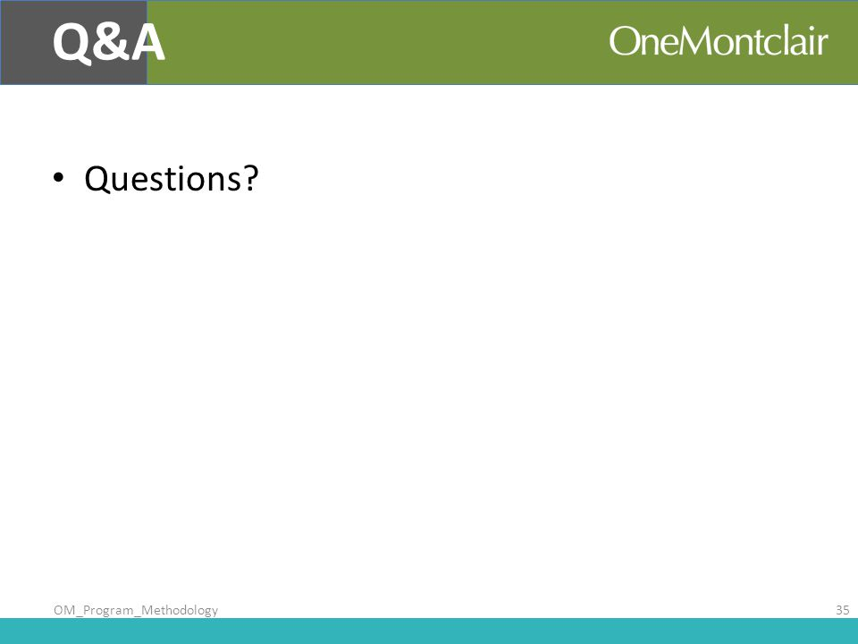 Questions Q&A OM_Program_Methodology35