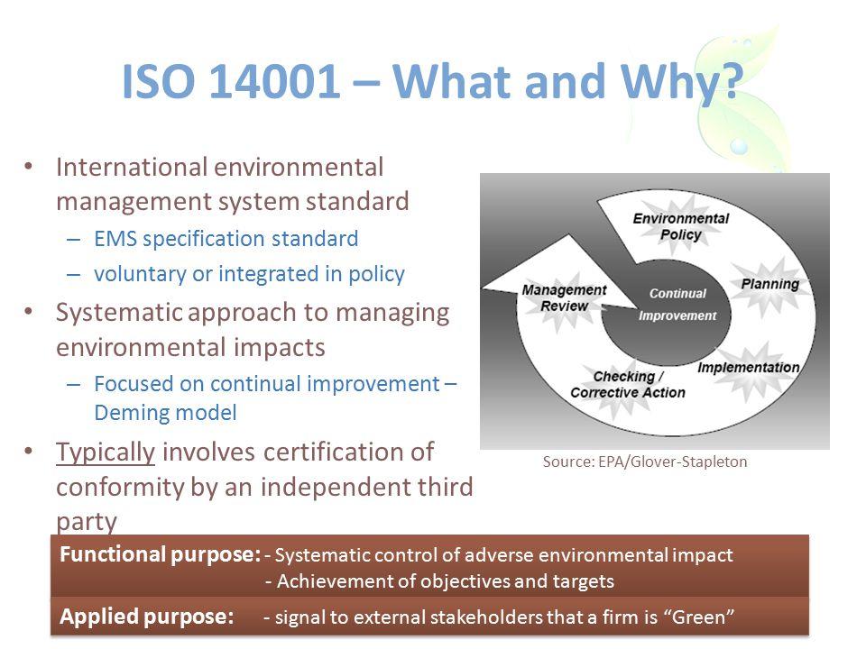 ISO 14001 – Effective.