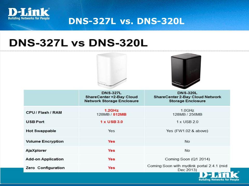 DNS-327L vs. DNS-320L
