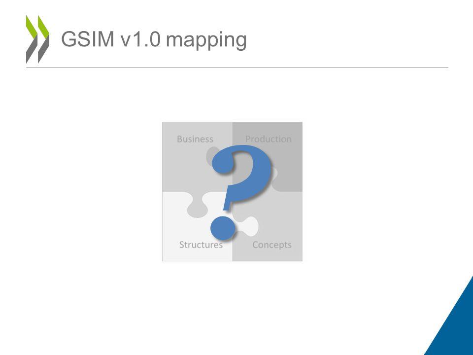 GSIM v1.0 mapping ?