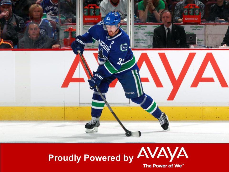 © 2013 Avaya Inc. All rights reserved. 90 Canucks closing slide Proudly Powered by