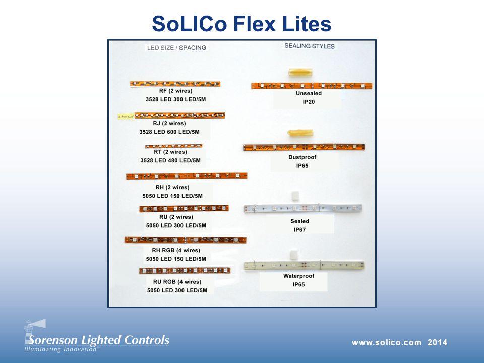 www.solico.com 2014 SoLICo Flex Lites
