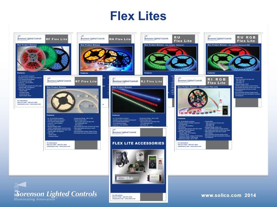 www.solico.com 2014 Flex Lites