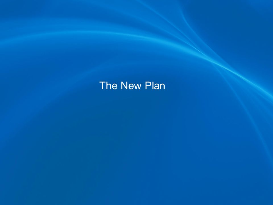 The New Plan