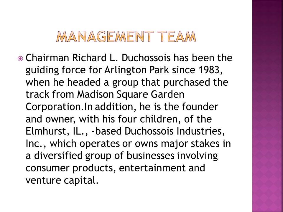  Chairman Richard L.