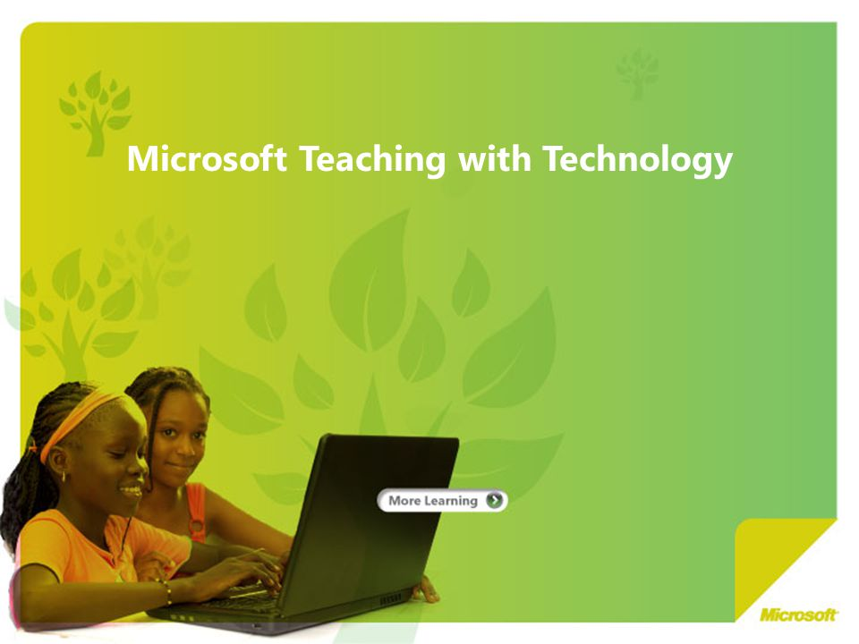 Microsoft Teaching with Technology
