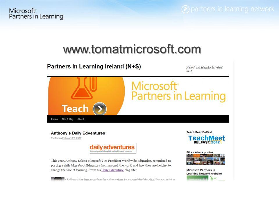 31 www.tomatmicrosoft.com