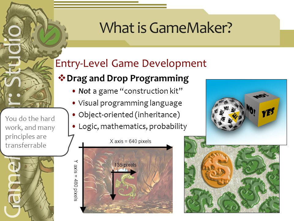 What is GameMaker.