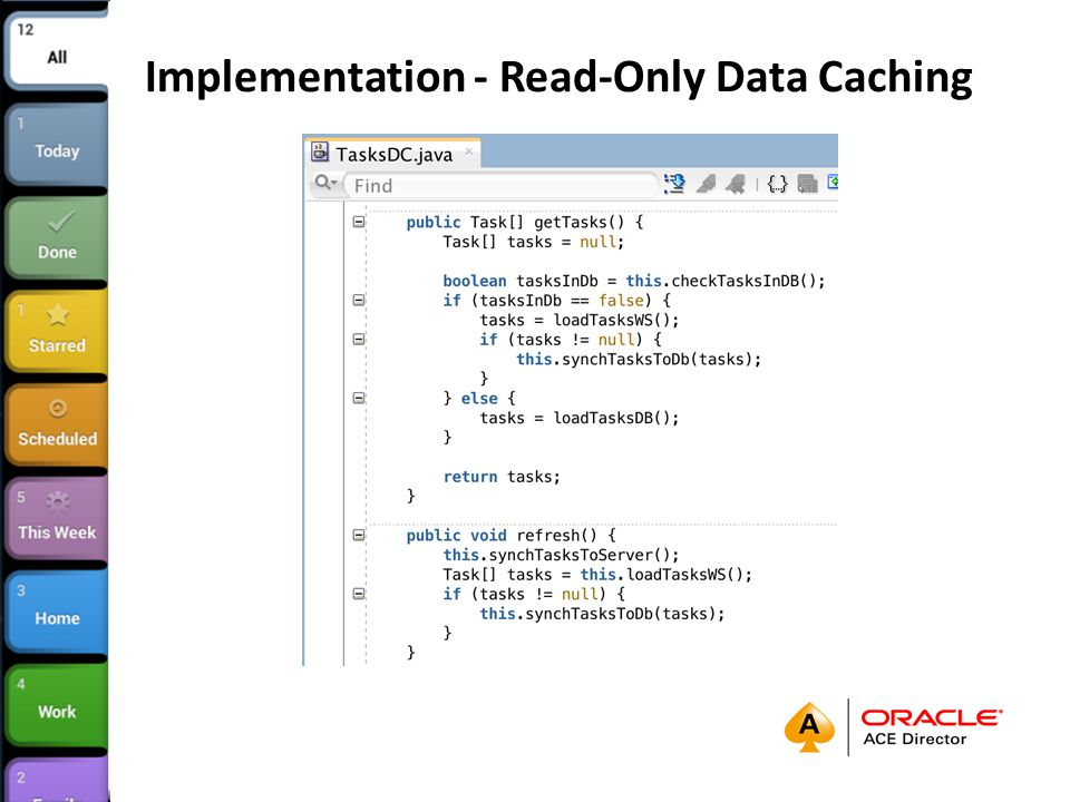 Implementation - Read-Only Data Caching