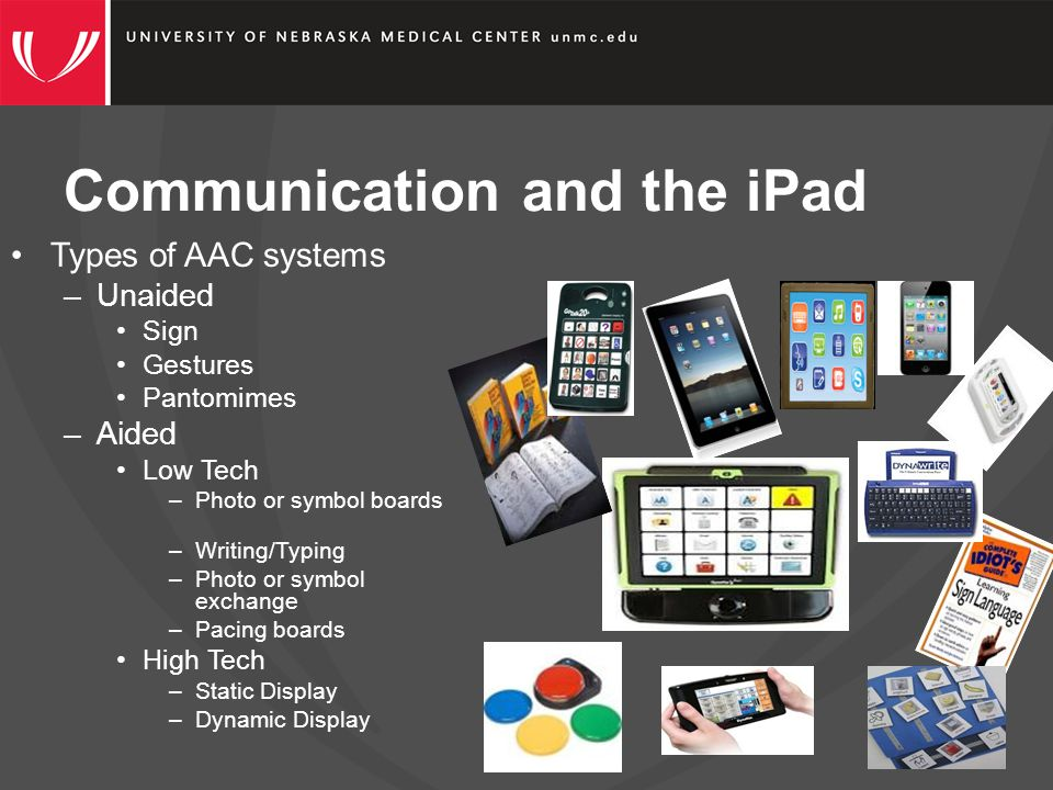 Communication and the iPad What factors go into choosing an AAC system.