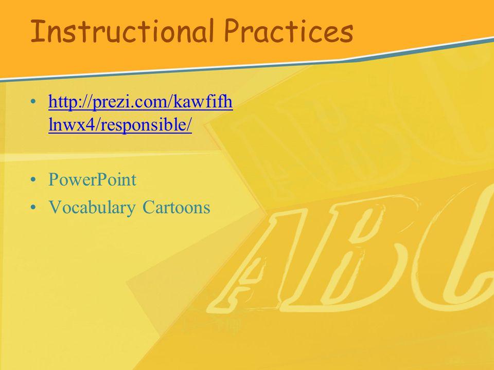 http://prezi.com/kawfifh lnwx4/responsible/http://prezi.com/kawfifh lnwx4/responsible/ PowerPoint Vocabulary Cartoons