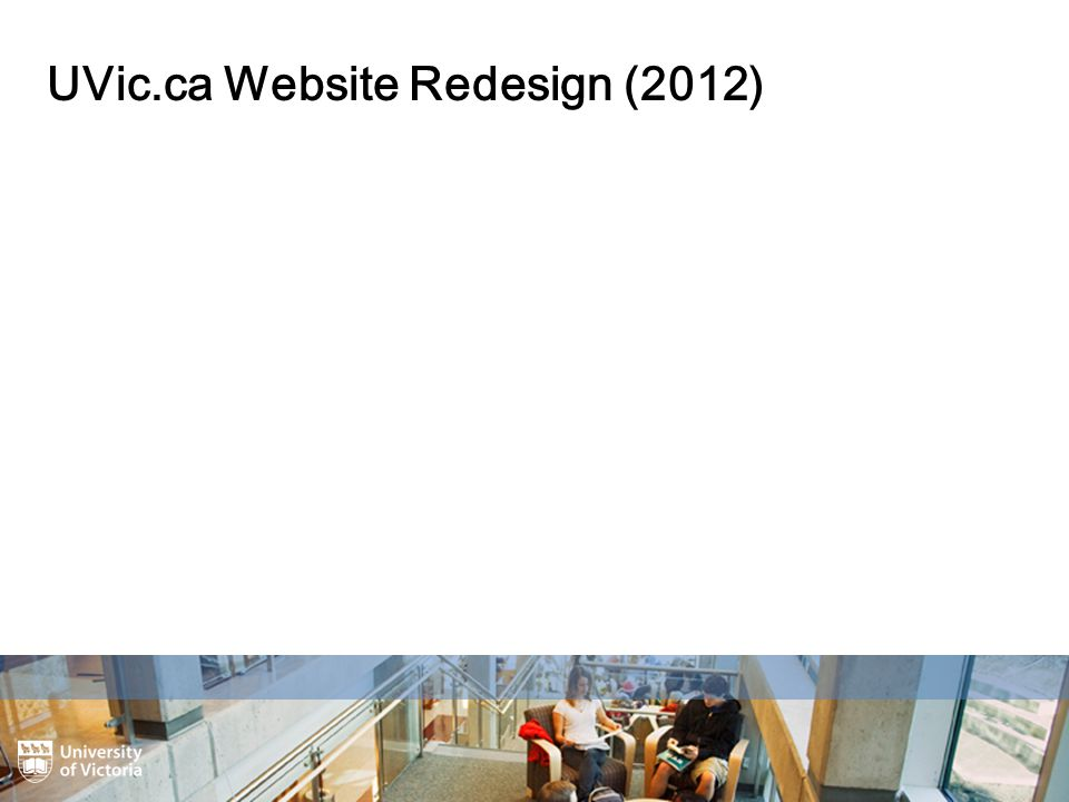 UVic.ca Website Redesign (2012)
