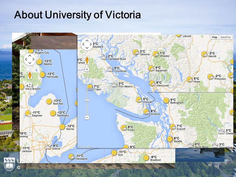 UVic.ca Website Redesign (2012) Global mega menu