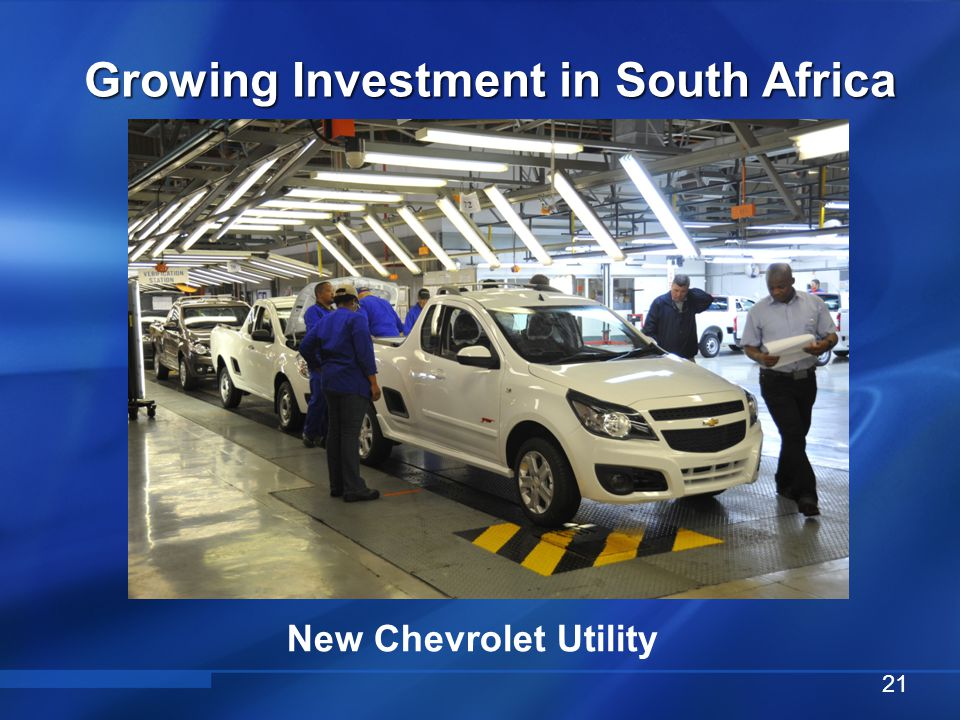 Chevrolet Sonic Hatch Growing Investment in South Africa 22
