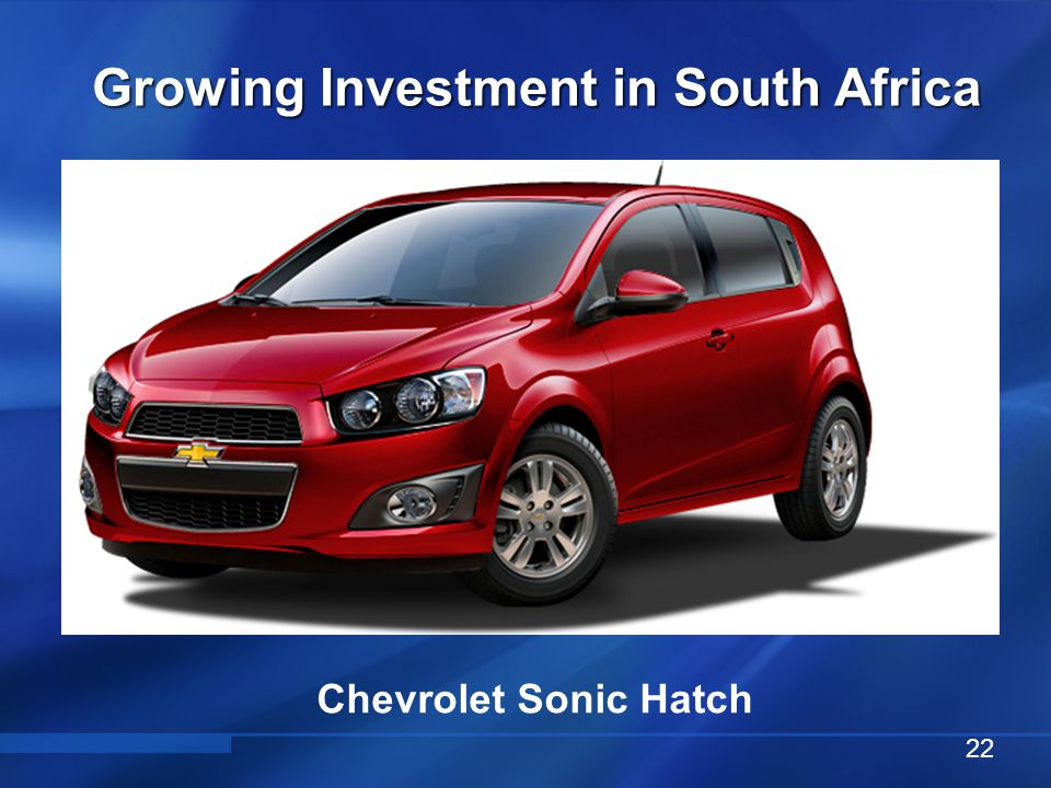 Vehicle Conversion & Distribution Center Growing Investment in South Africa 23 Parts Distribution Center