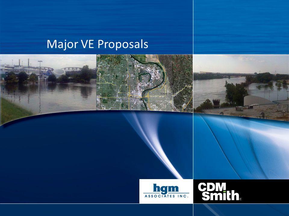 Major VE Proposals