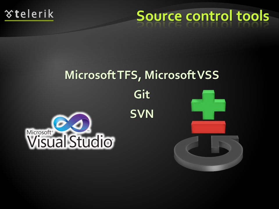 Microsoft TFS, Microsoft VSS GitSVN