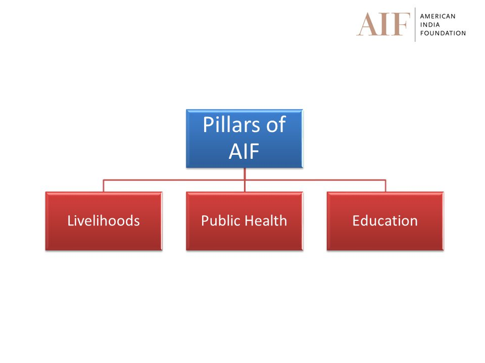 Pillars of AIF LivelihoodsPublic HealthEducation