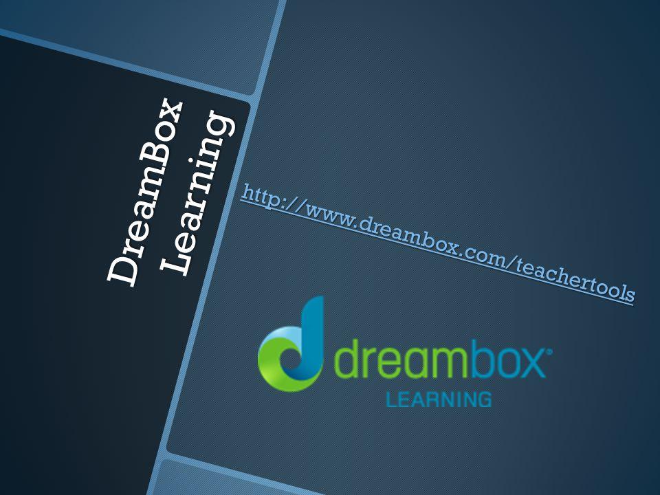 DreamBox Learning http://www.dreambox.com/teachertools