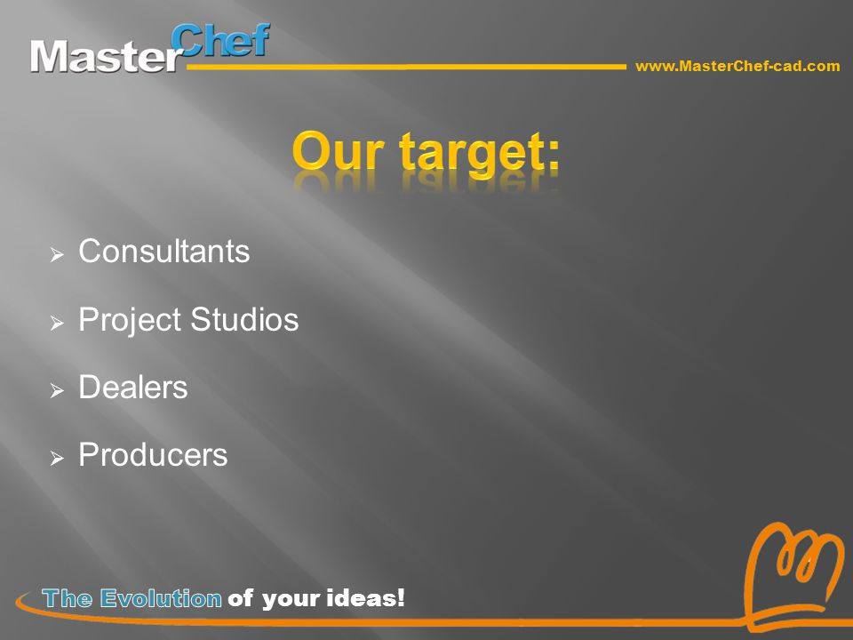 Consultants  Project Studios  Dealers  Producers