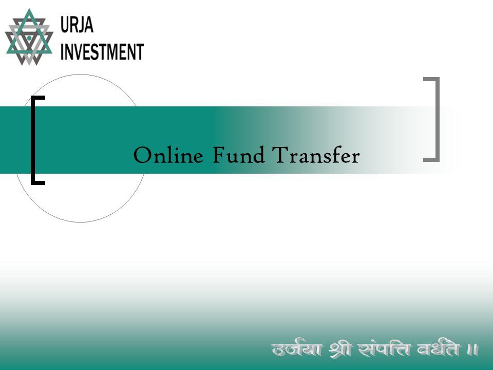 Online Fund Transfer