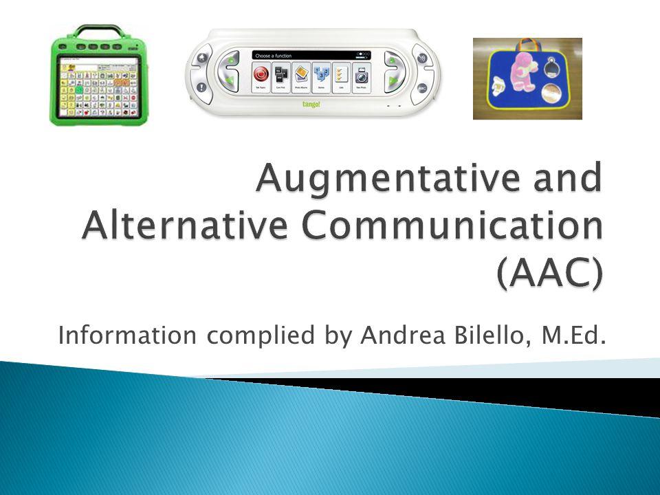 Information complied by Andrea Bilello, M.Ed.