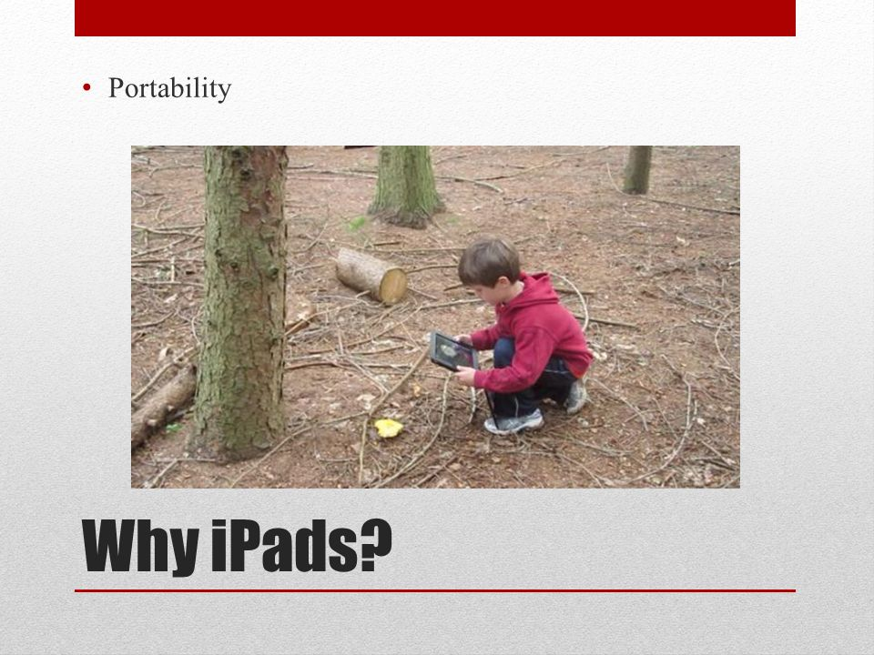 Why iPads Portability