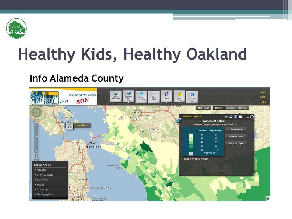 Healthy Kids, Healthy Oakland Info Alameda County