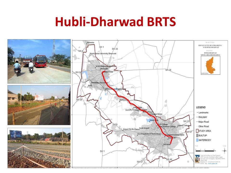 Hubli-Dharwad BRTS NAVANAGAR DHARWAD NAVALGUND HUBLI KALGHATGI