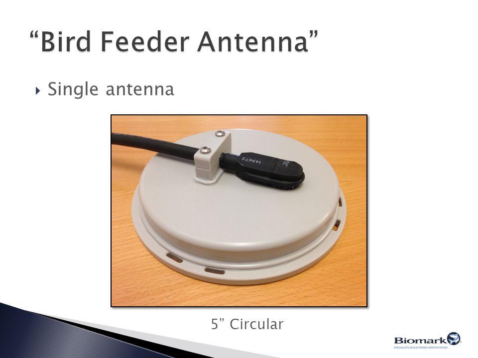 " Single antenna 5"" Circular"