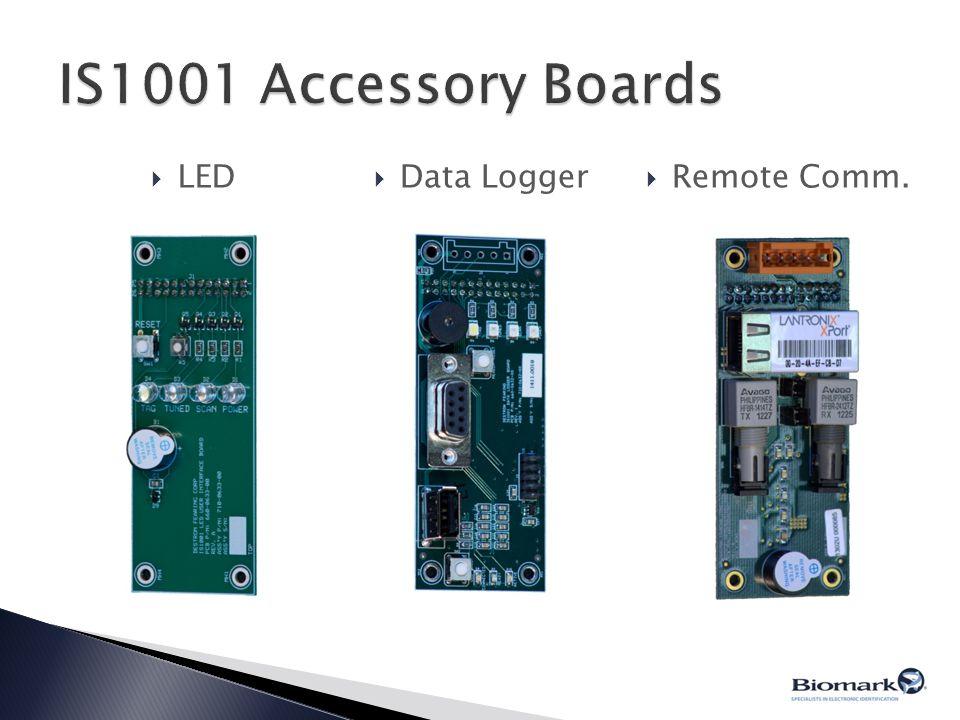  LED  Data Logger  Remote Comm.