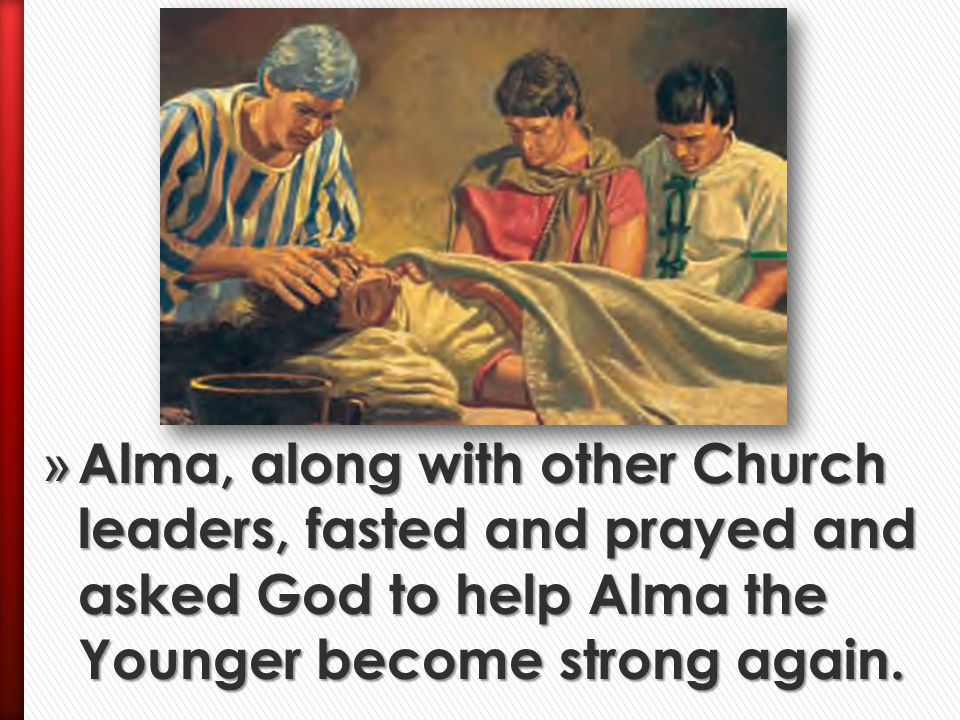 » Alma called many people together to see what the Lord had done for his son and for the sons of Mosiah.