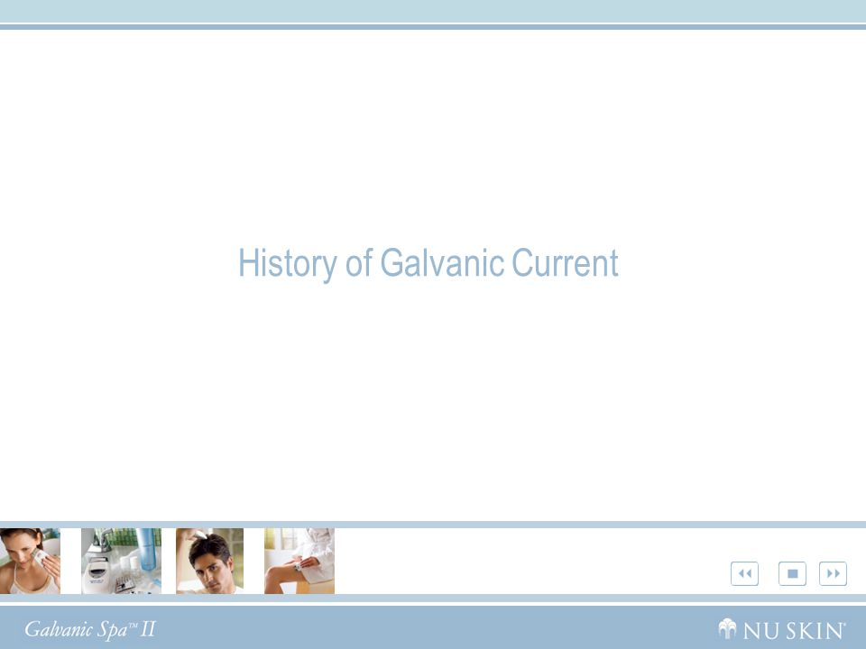 History of Galvanic Current