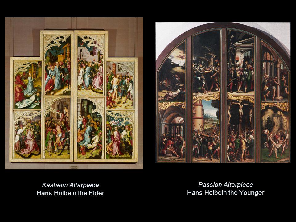 Kasheim Altarpiece Hans Holbein the Elder Passion Altarpiece Hans Holbein the Younger
