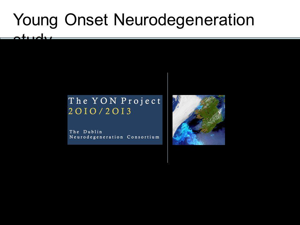 Young Onset Neurodegeneration study