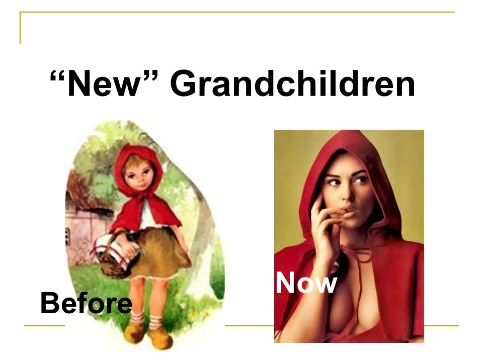 Before Now New Grandchildren