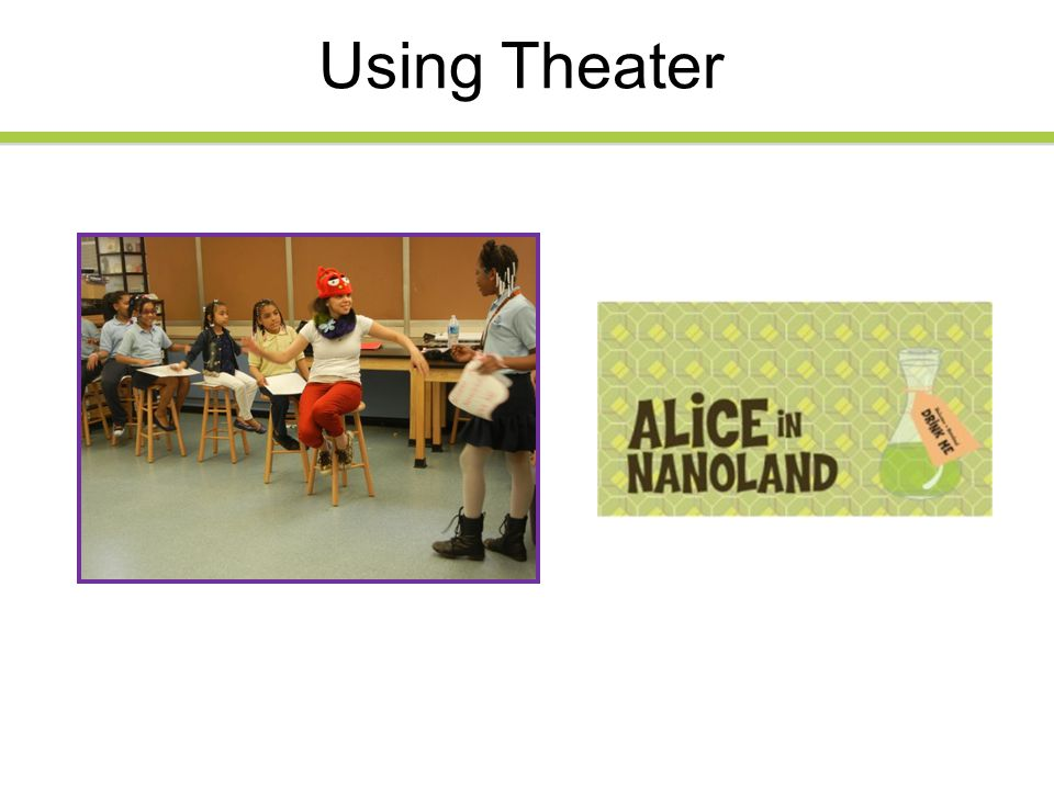 Using Theater
