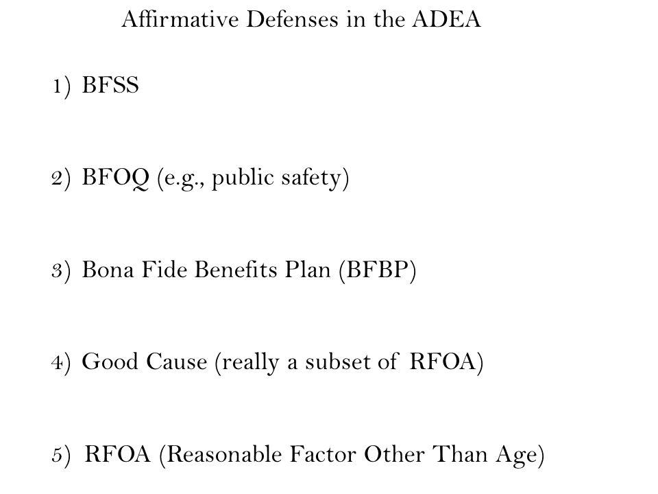 Adverse Impact Scenarios Leftwich v.