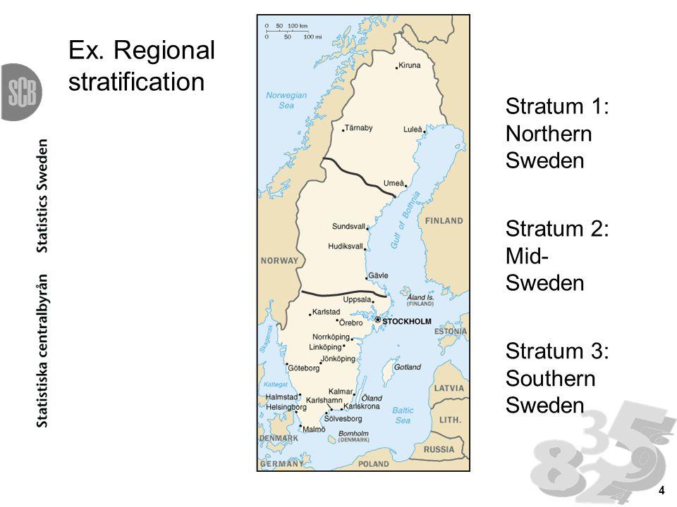 4 Stratum 1: Northern Sweden Ex.