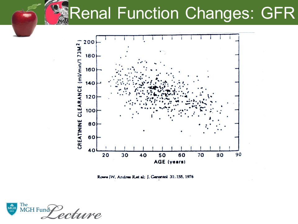 Renal Function Changes: GFR