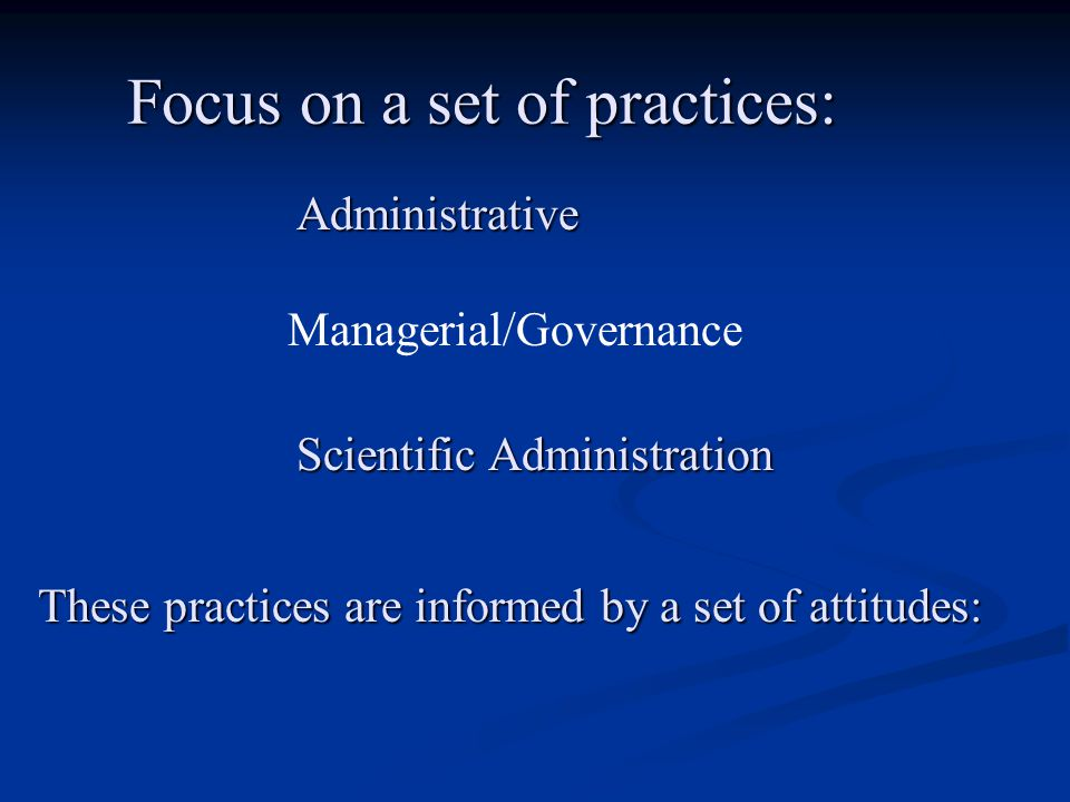 In administrative matters: Government funded EQUALS government department.