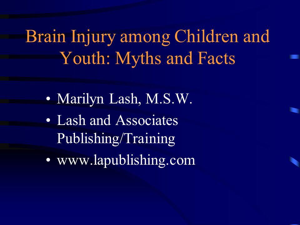 Defining Brain Injury