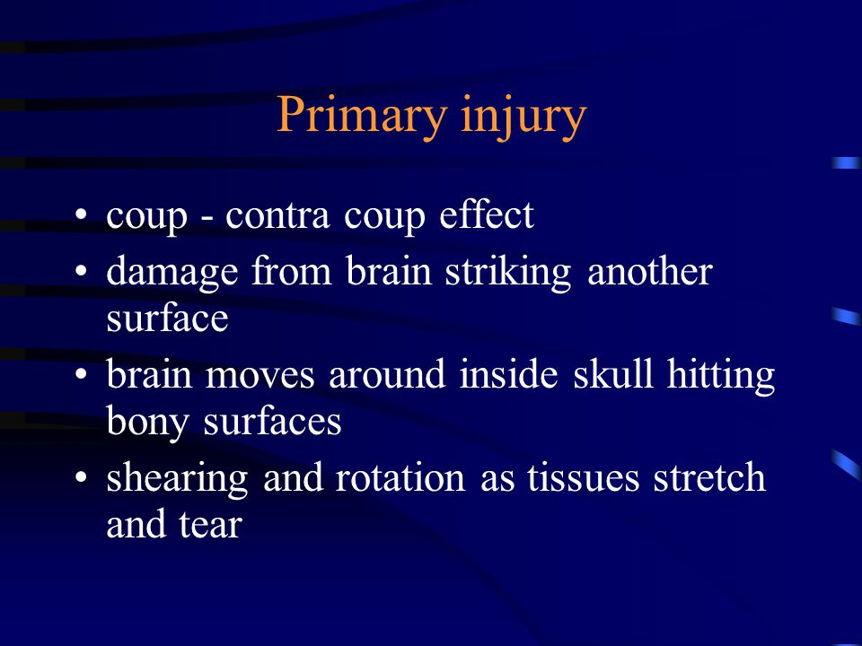 Consequences of Brain Injury in the Classroom