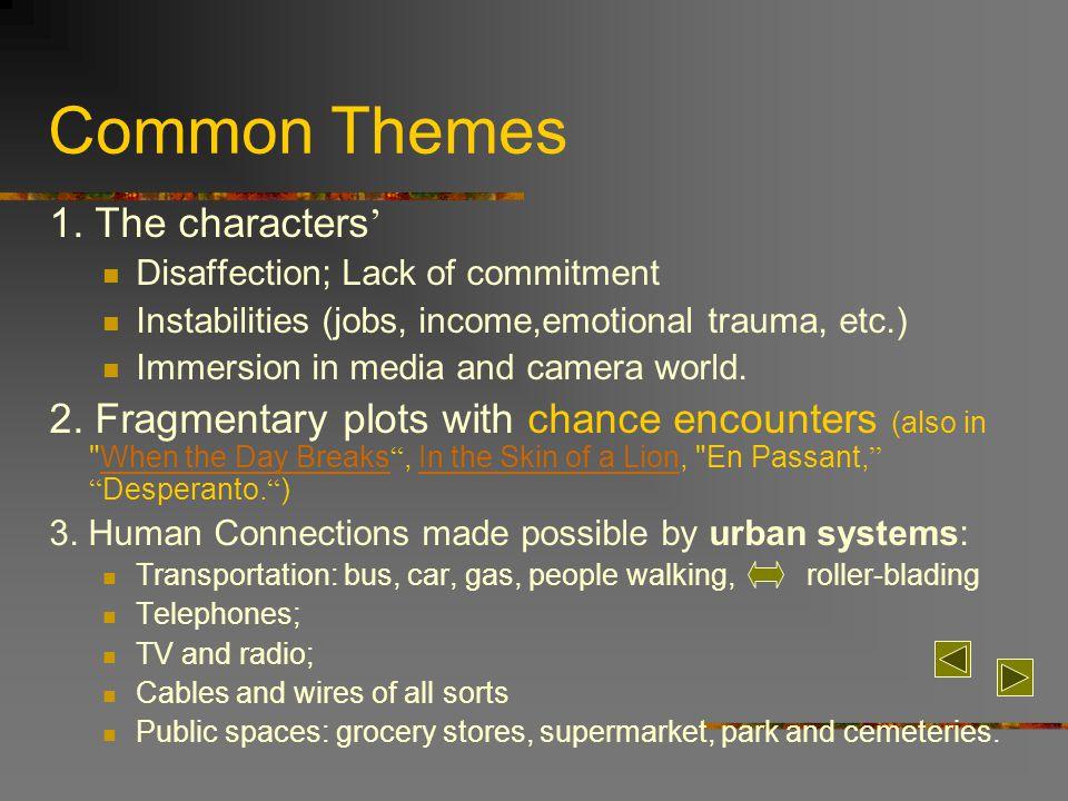 Common Themes 1.