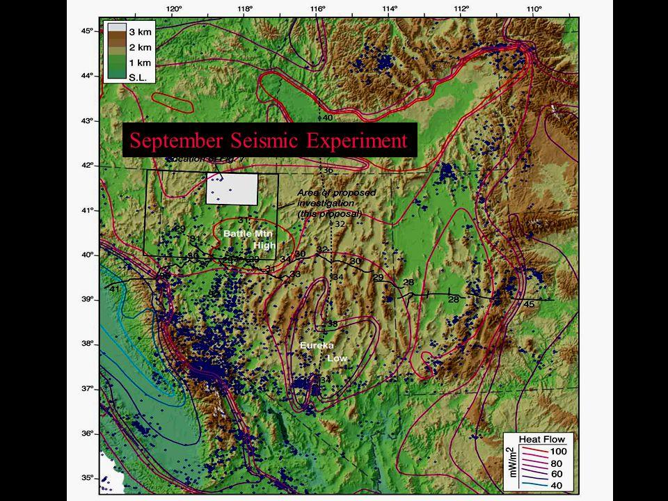 September Seismic Experiment