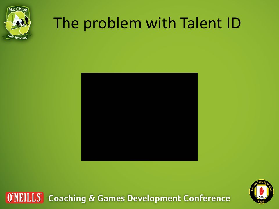The problem with Talent ID