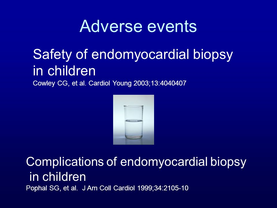 Adverse events Cowley paper –1986-2002 –1051 procedures in 135 patients –IJ approach 68% –48 < 1yr –92% rejection surv.