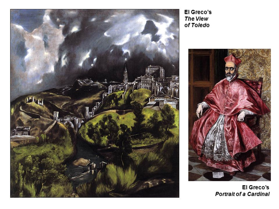 El Greco's The View of Toledo El Greco's Portrait of a Cardinal