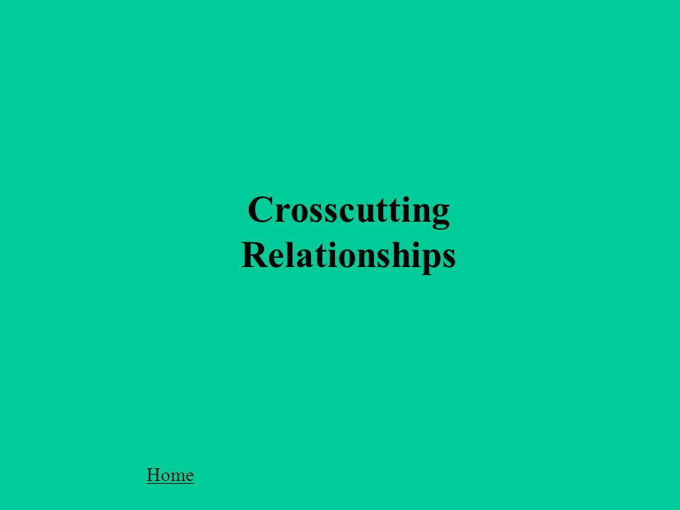Crosscutting Relationships Home