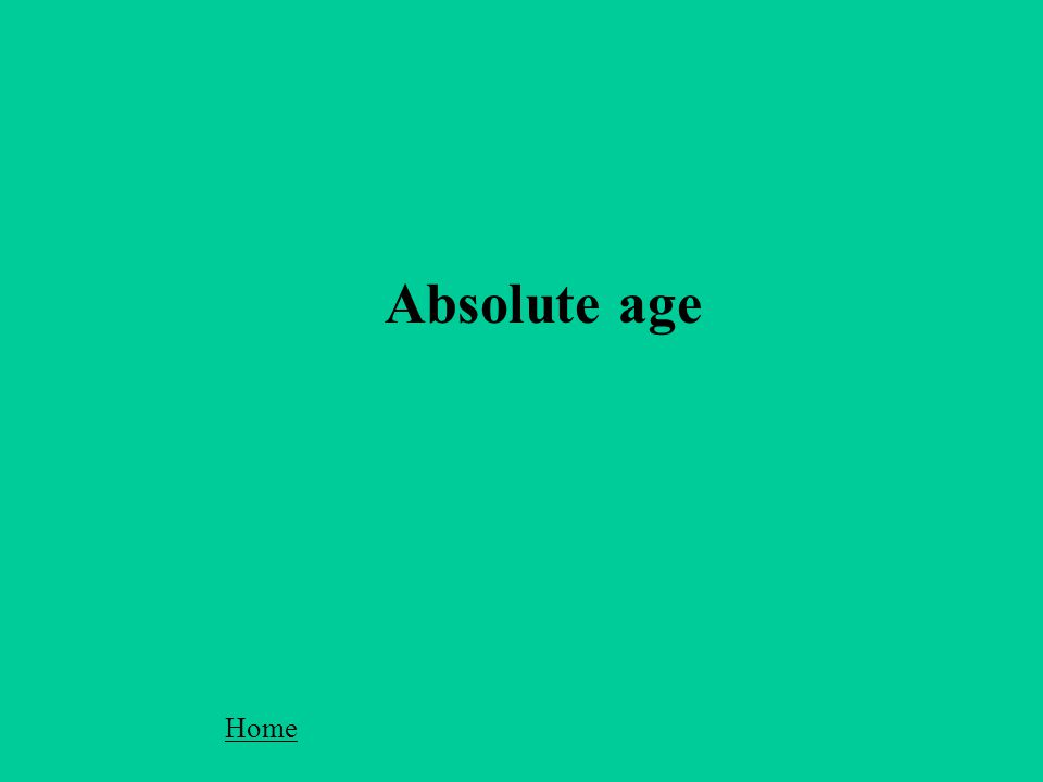 Absolute age Home